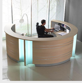 Arena Office Design - reception area